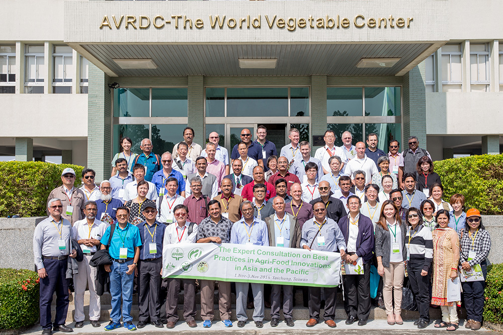 Participants visited AVRDC- The World Vegetable Center